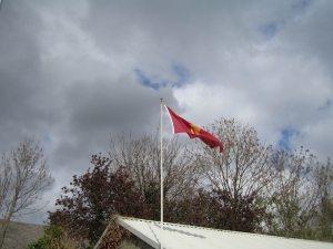 Unfurling the Flag - Leinster Bowling Club
