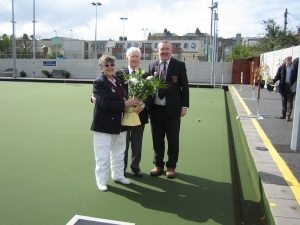 Unfurling the Flag - Leinster Bowling Club