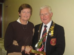 Lady Bowler of the Year, Mary Kenny