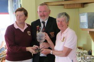 Ladies Pairs, Winners: Mary Kenny & Pat MacDonagh.