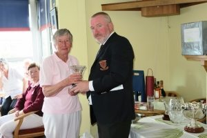 Ladies Bowler of the Week: Pat MacDonagh.