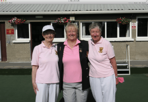Ladies' 2 Bowl, R/u Alice McMullen, Marker Anne O'Herlihy, Winner Pat MacDonagh.