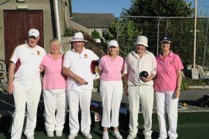 Triples. Winners: Arthur McMullen, Anne O'Herlihy, Eamon Brennan. R/u: Agnes Gillick, Paul Smyth, Rita Doran.