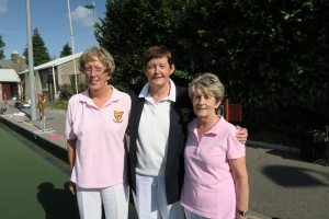 Ladies' Junior Championship Singles. Winner Anne Fitzgerald, Marker Mary Kenny, R/u Lorraine Doyle.