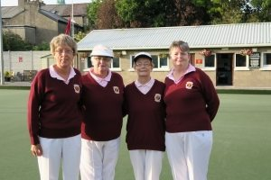 Ladies' Pairs. Winners: Anne Fitzgerald & Annette Finn, R/u: Alice McMullen & Mary Keating.