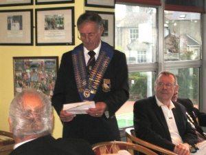 Norfolk Association President, Brian Taylor.
