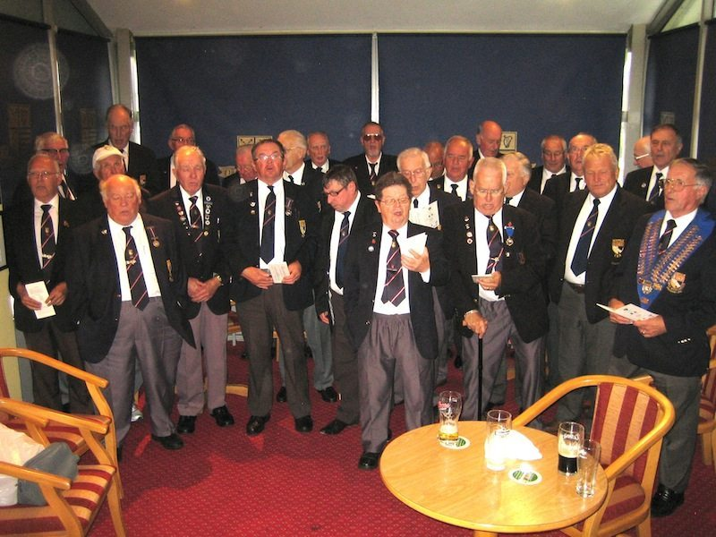 Norfolk Bowls Association visit Leinster 2015