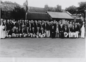 South African Team visit Leinster, 1949
