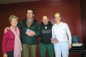 2nd. Lorraine, Jack, Anto & Alice.