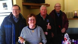 2nd. Place: Eugene Fannon, Anne Murphy, Gerry Rutledge, Andre Marchand.