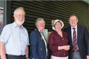 Best Hat Prize. Margaret Kelly.