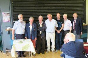 2nd. Prize. Paul Smyth, Seamus Cosgrove, Paul McArdle, Pat Kenny.