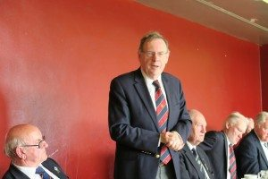 LBC President, Eugene Fannon