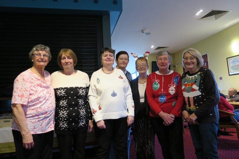 Winter Social Bowling, Christmas Buffet 2016