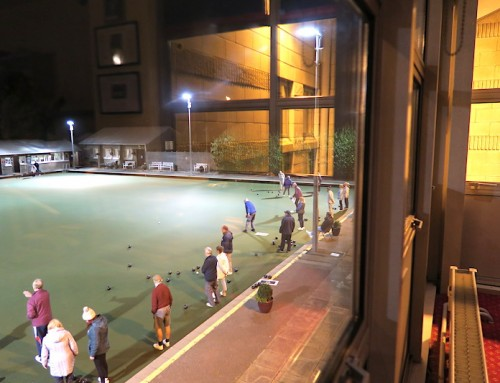 Tuesday Evenings, Coaching & Bowling Practice.